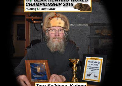 Karhunmetsästyksen maailmanmestari 2015